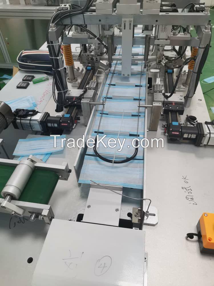 3 ply mask making making machine