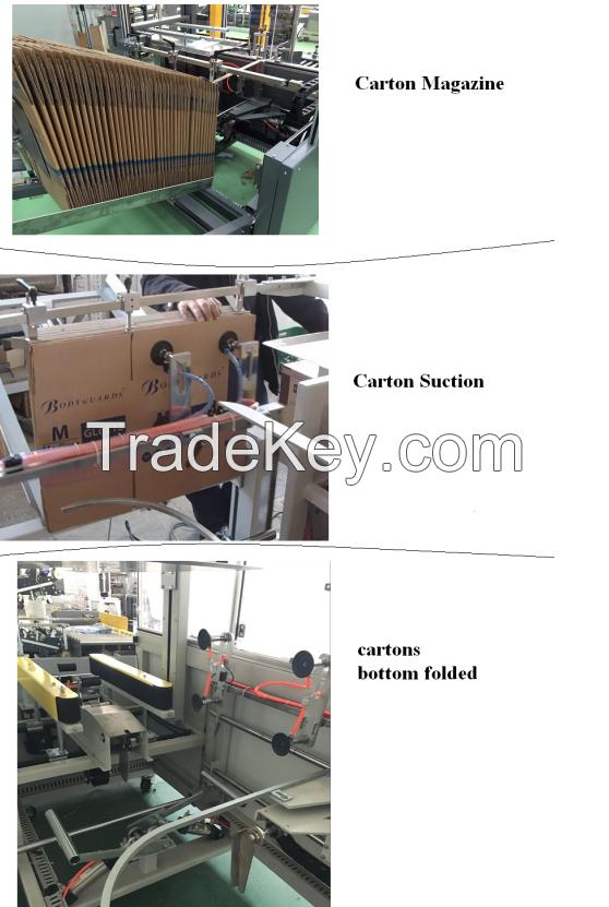 Carton Erector Forming Machine