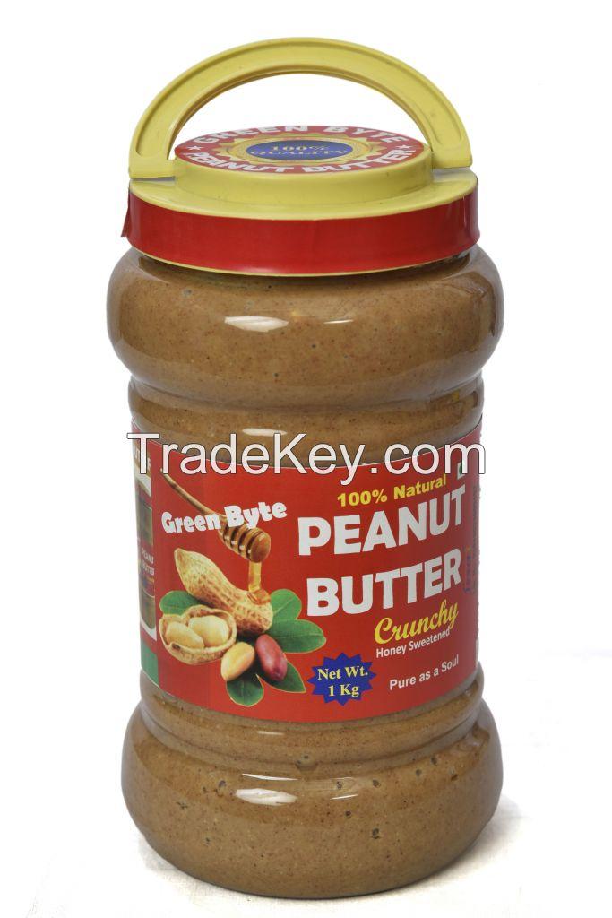 Chrunchy Peanut Butter Honey Sweetened