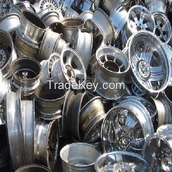 Buy Pure 99.9% Aluminum Alloy Wheels scrap