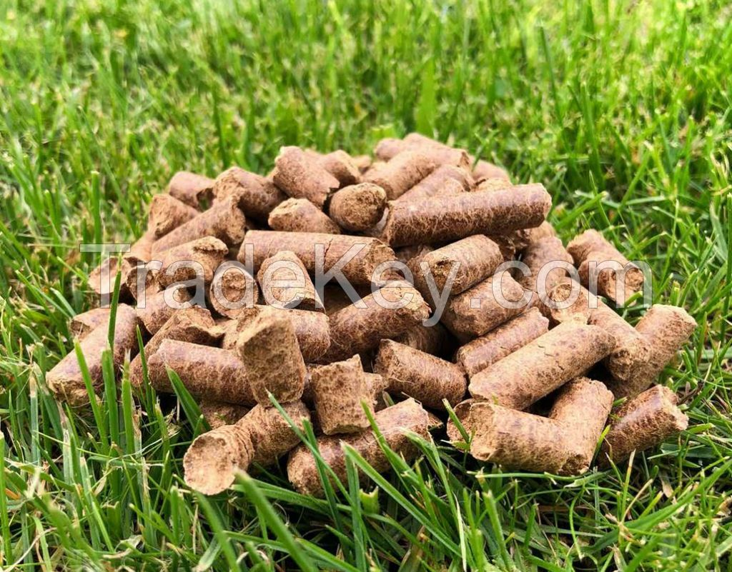Biomass wood pellets for heating system