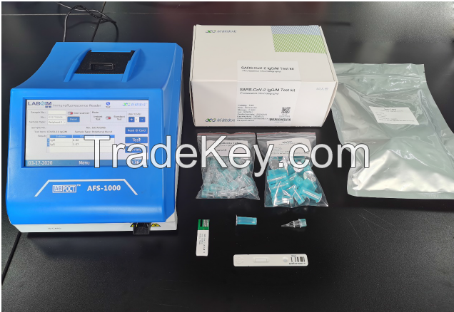 COVID-19 Immuno Flourescence Chromotography Test Machine