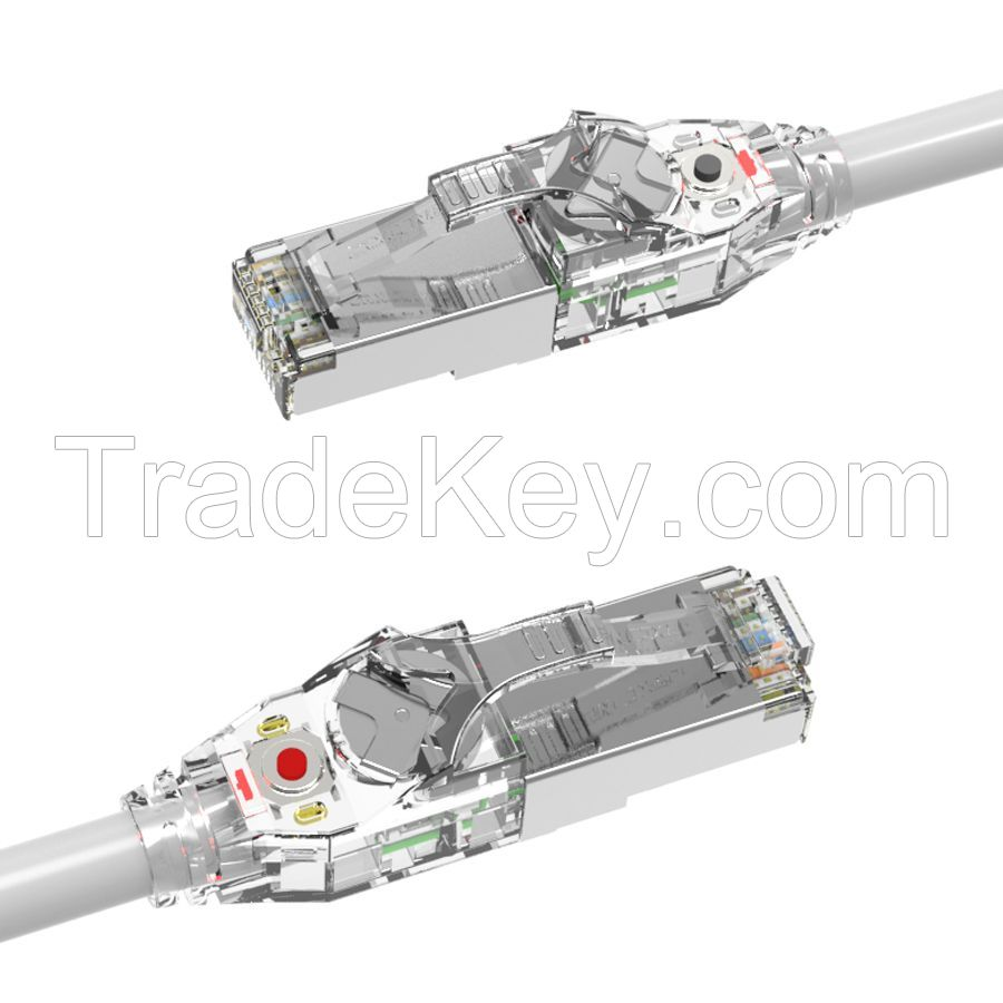 Cat.6A Shielded LED Tracking Patch Cord