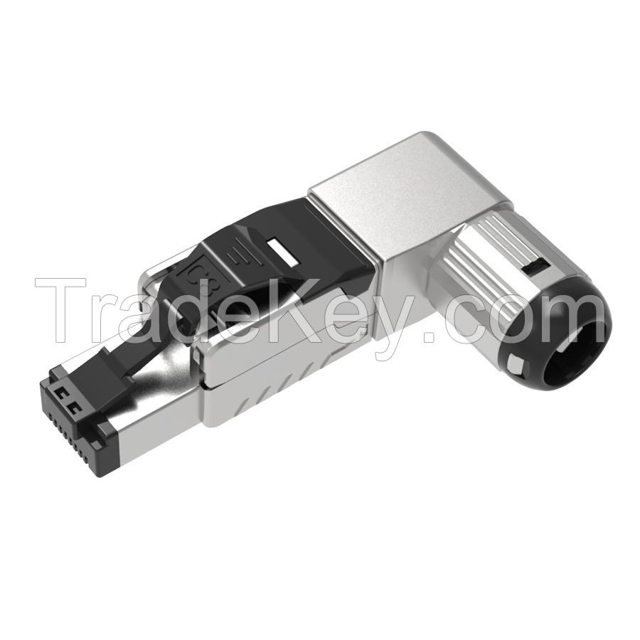 Cat.8 STP Tooless RJ45 Connector