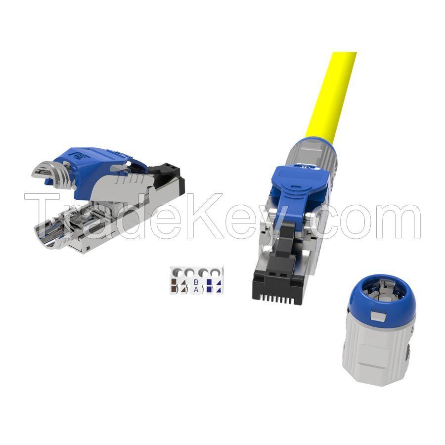 Cat.8 STP Field Termination Tool Free Plug