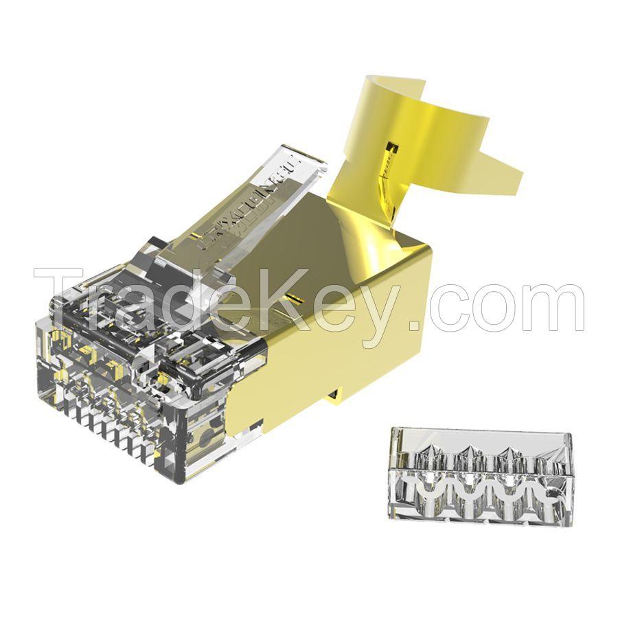 Cat 7 STP 8p8c Solid RJ45 Modular Plug