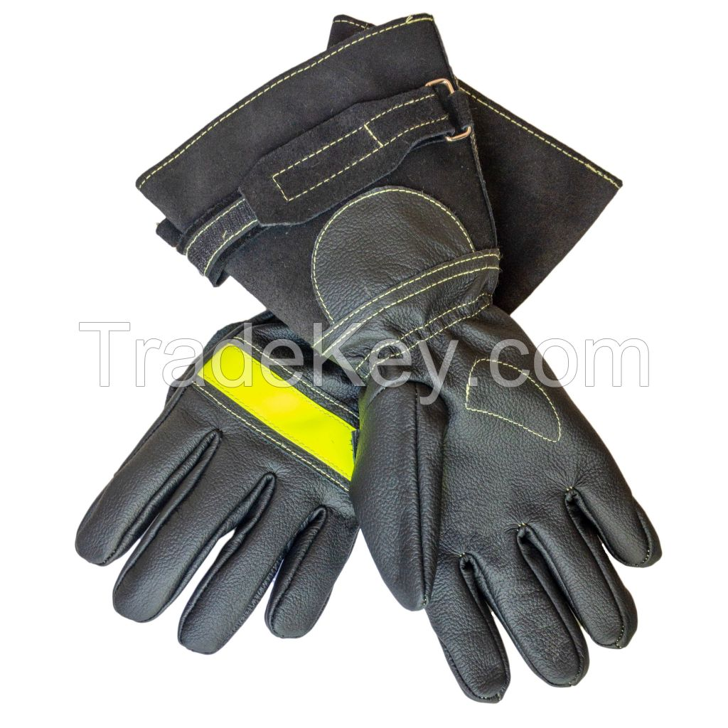 Fire-Max 1 Firemans Leather Gloves