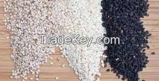 Sesame - White and Black