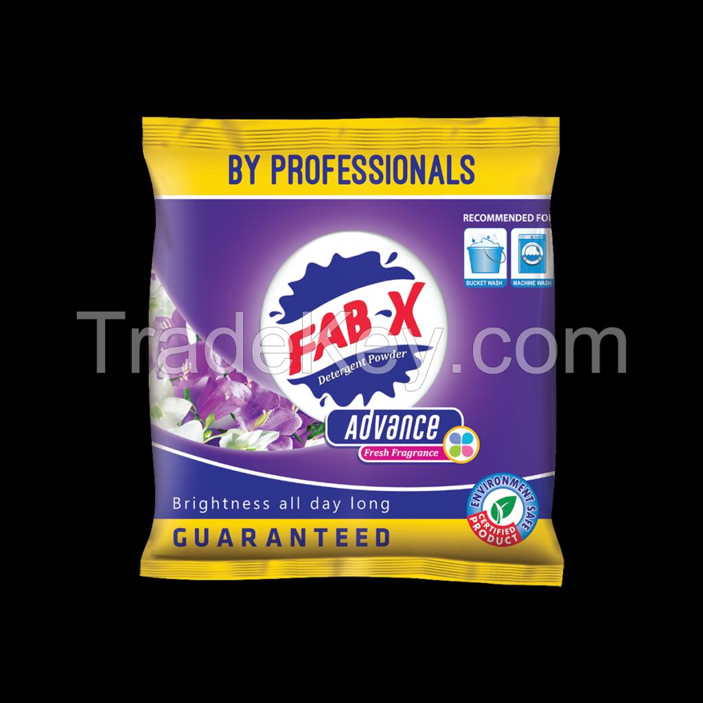 Fab X - Advance Detergent powder  12gm, 120gm, 500gm, 1kg