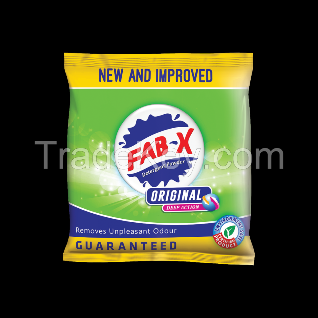 Fab X - Original Detergent powder   155gm, 500gm, 1kg