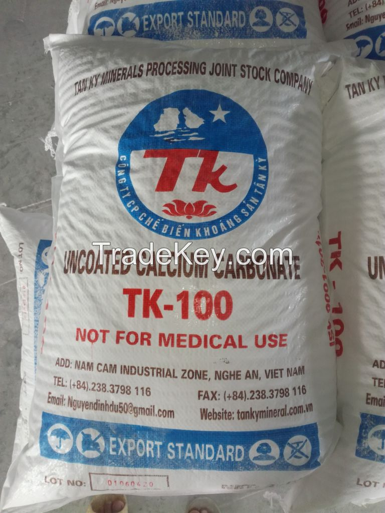 Uncoated/Coated Calcium Carbonate Powder