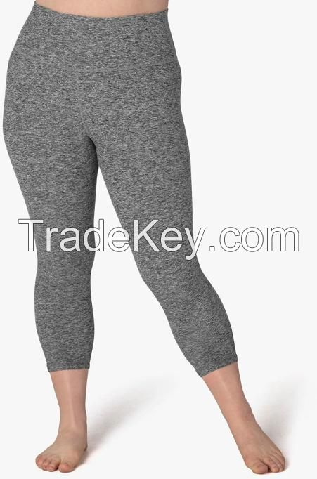 Yoga Leggings - High Waist - Mid Waist