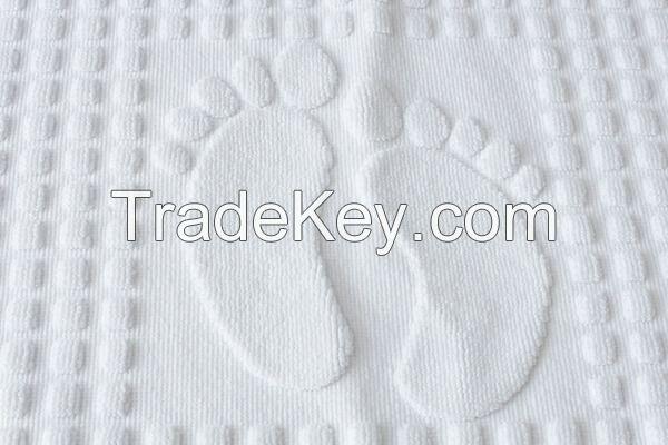 Cotton Hotel Floor Foot Towel Bath Mat