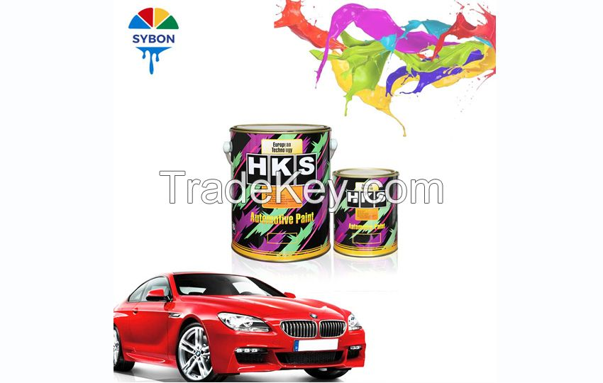 Guangzhou factory High Gloss and Good Coverage Car Paint