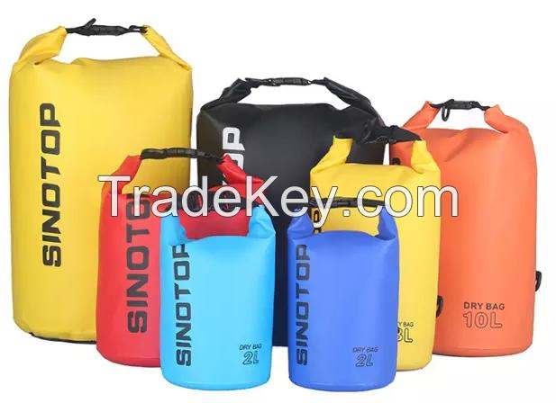10L portable outdoor camping top waterproof backpack