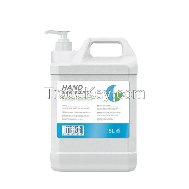 OEM/ODM Custom hand sanitizer liquid alcohol free hand sanitizer 10ml/30ml/80ml/100ml