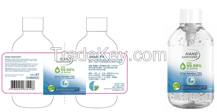 Non Washing Instant hand gel 1000ml Anti virus Anti-septic Dry Hand Gel