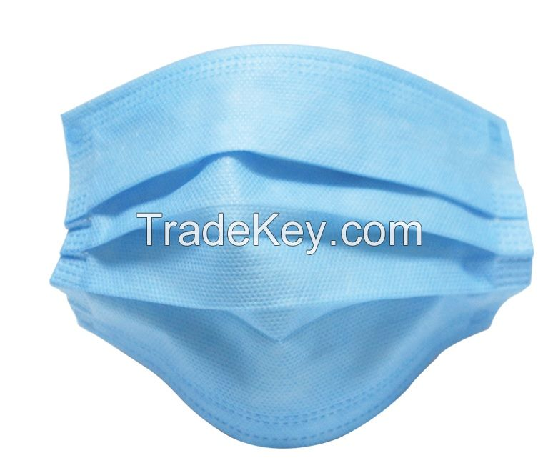 3-Ply Disposable Medical Face Masks Type IIR 50 Pcs