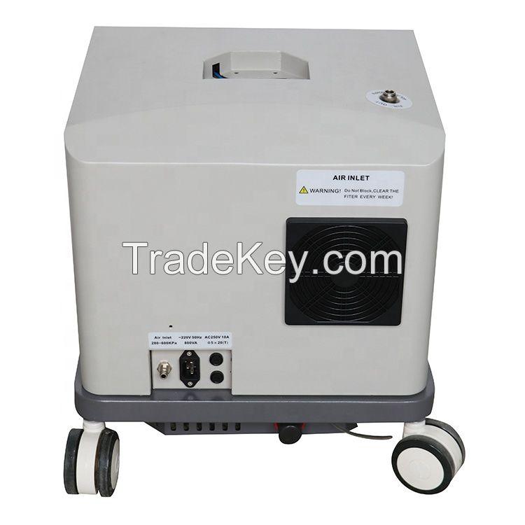 Safe reliable small portable ventilator medical air compressor