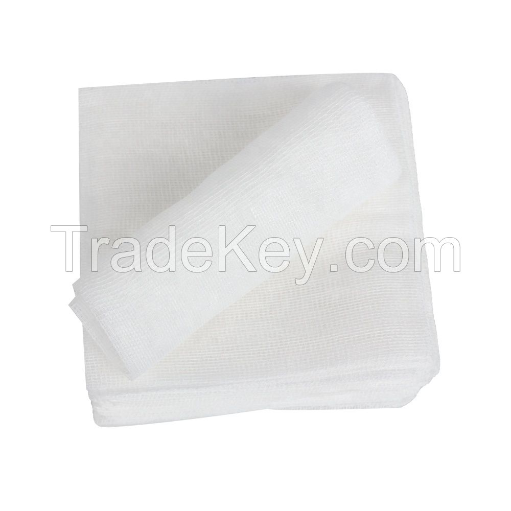 10x20cm 12-ply 100% Cotton Gauze Swabs