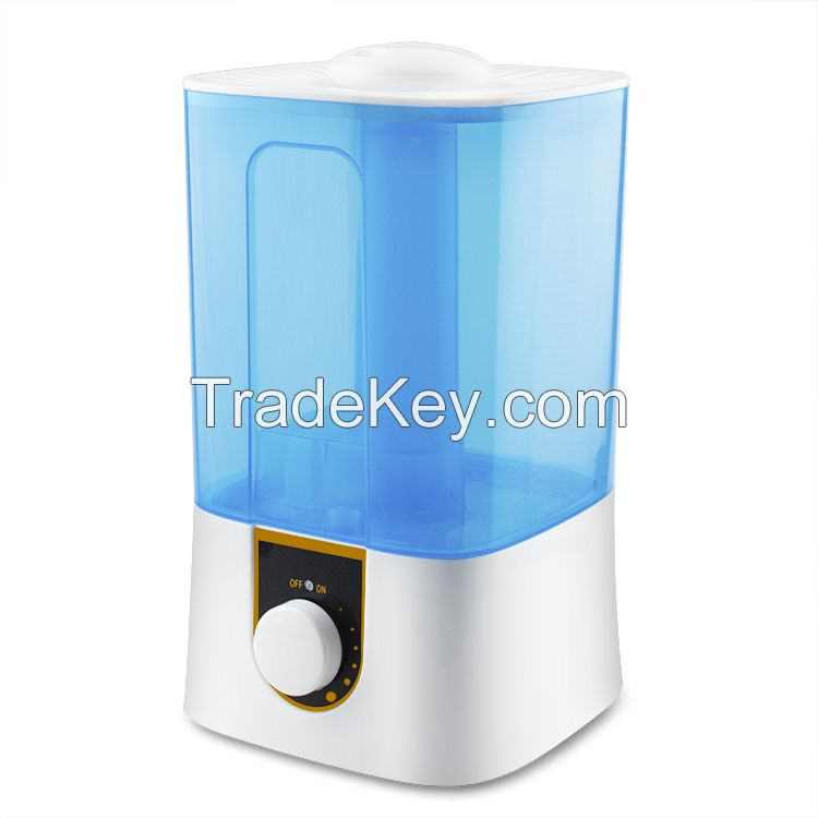 2020 4L Top filling Air Purifier and Air Vaporizer, Ultrasonic Humidifier with Cool Mist