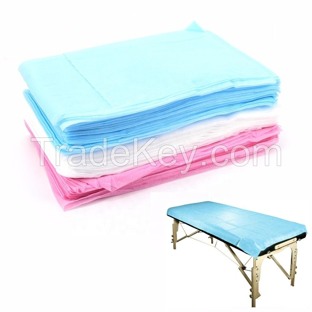 Professional Surgical Waterproof Nonwoven Hospital Medical Disposable Bed Sheet