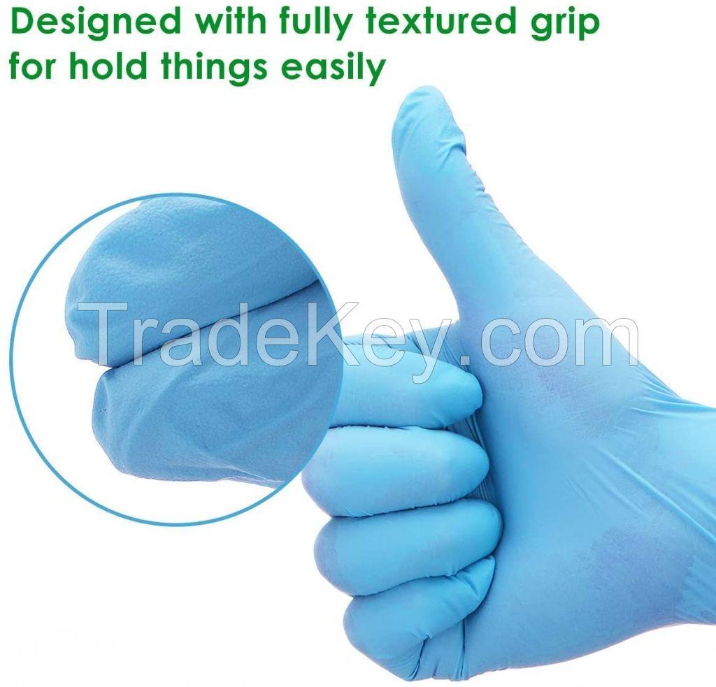 Wholesale 2020 powder free Sterile Nitrile Gloves Latex Gloves