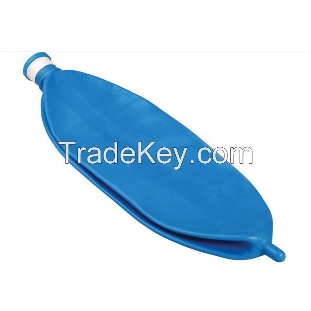 High quality medical latex free anesthesia reservoir breathing bag 1L 2L 3L CE FDA