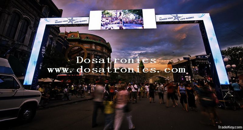 Rental Mode High Refresh Rate Outdoor PH7.2 LED Screen