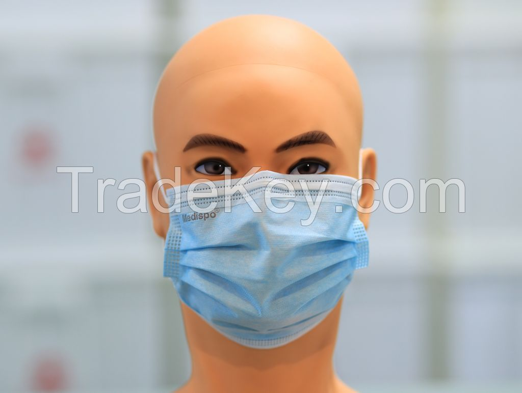 3 Ply Blue Dispossable Face Mask Surgical Face Mask