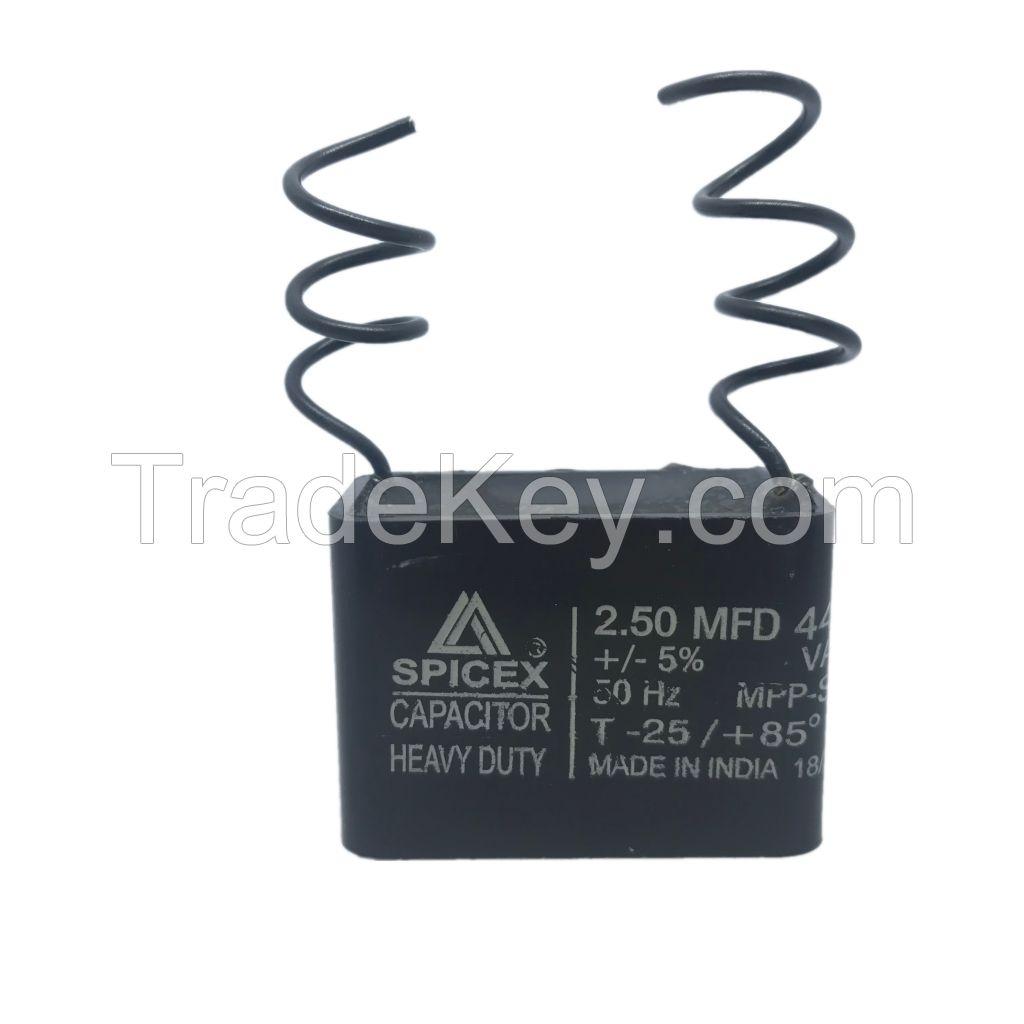 2.5  MFD -440v Box Type Wall Fan Capacitors