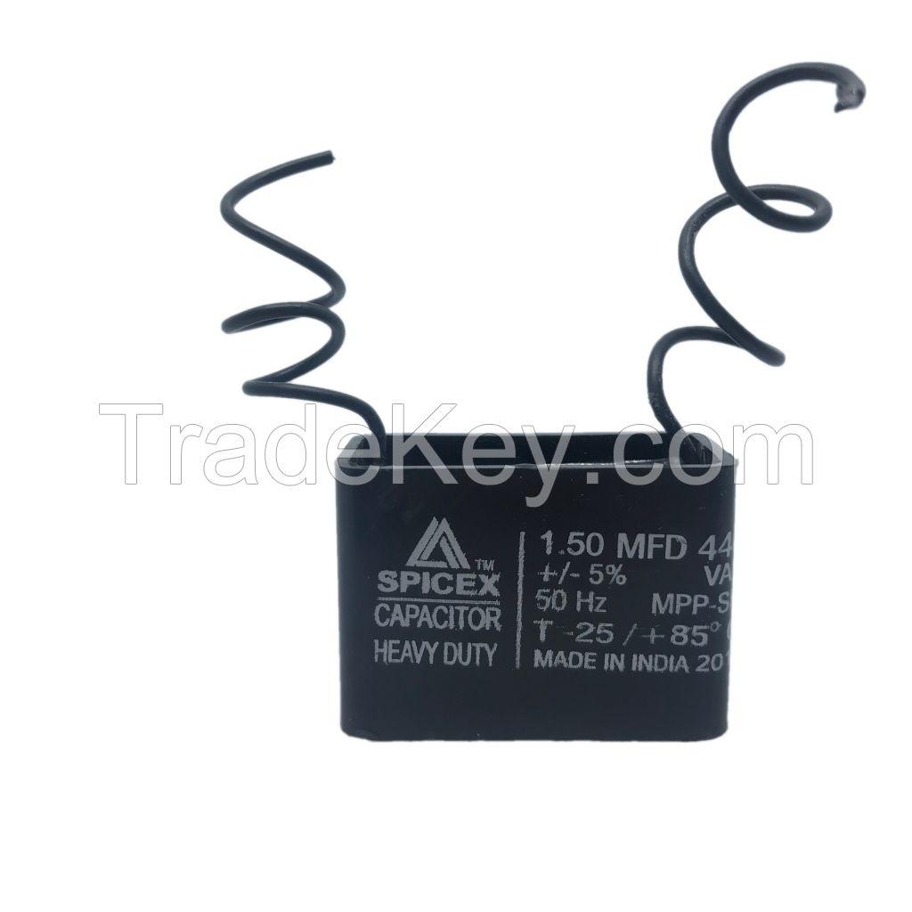 1.5  MFD -440v Box Type Wall Fan Capacitors
