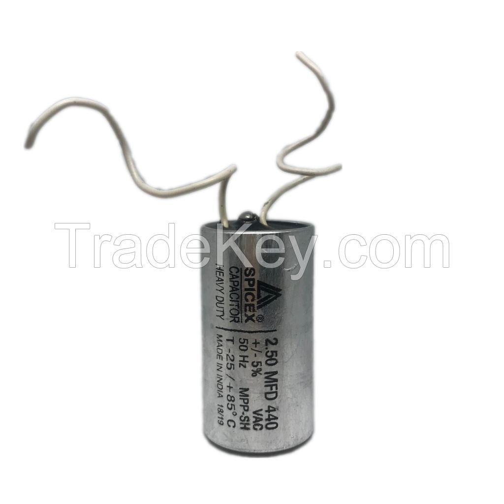 2.5 MFD Oil Filled MFD 440V : Ceiling Fans/Motors