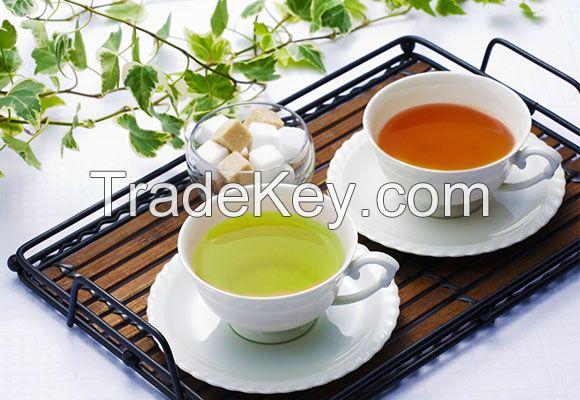 Black Tea, Green Tea, Flavored Tea