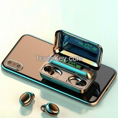 Wireless earbuds TWS waterproof bluetooth headphone noise canceling earbuds 5.0