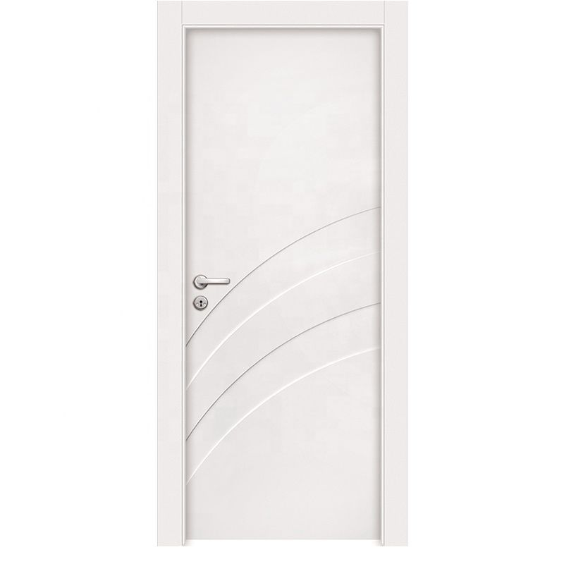 Moisture Proof Non-Flammable WPC Substrate Basic Material Door