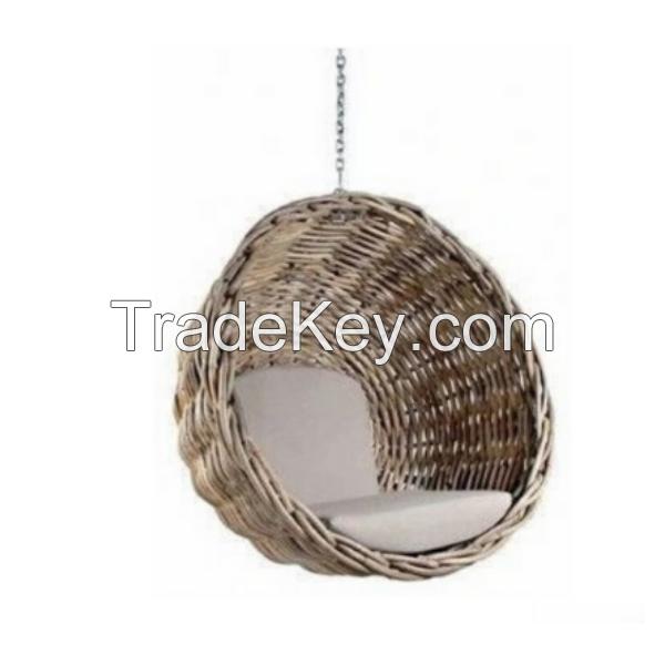 Arvabil Handmade Natural Basket Swing, Prime Design