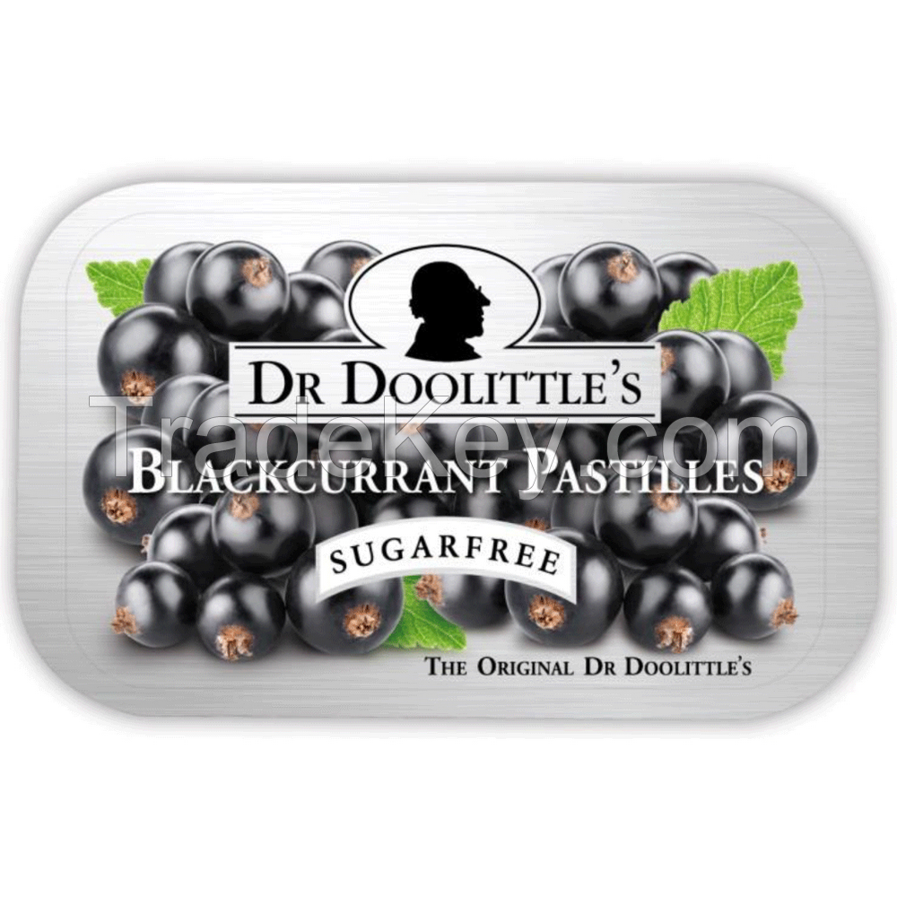 Dr. Doolittle's Blackcurrant Sugar Free Pastilles
