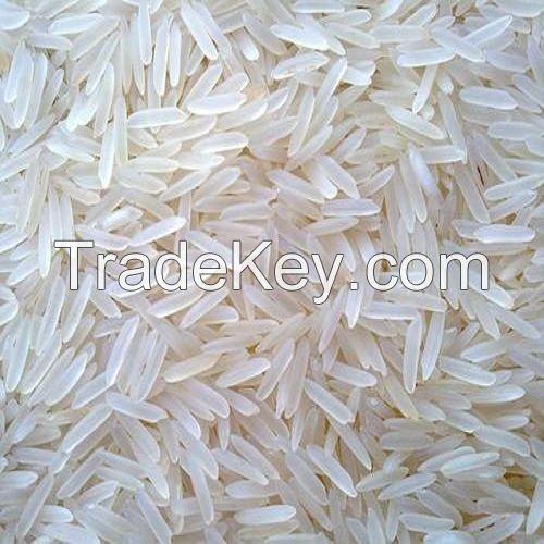 Long grain white rice, parboiled rice, Basmati rice, Jasmine rice