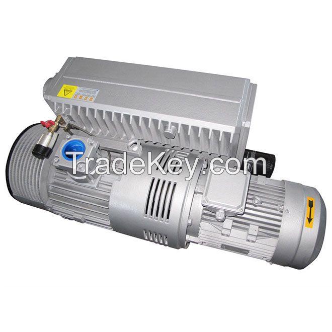 Singel-stage rotary van vacuum pump