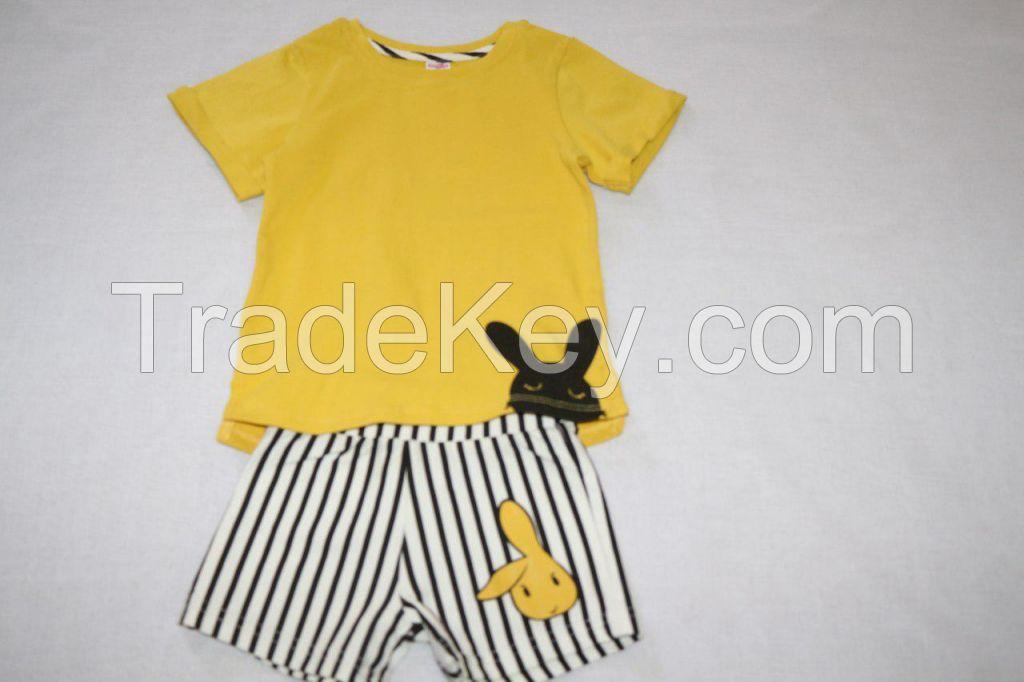 t-shirts and shorts sets, tank tops and shorts sets, pyjamas, long sleeve t-shirts and pants sets