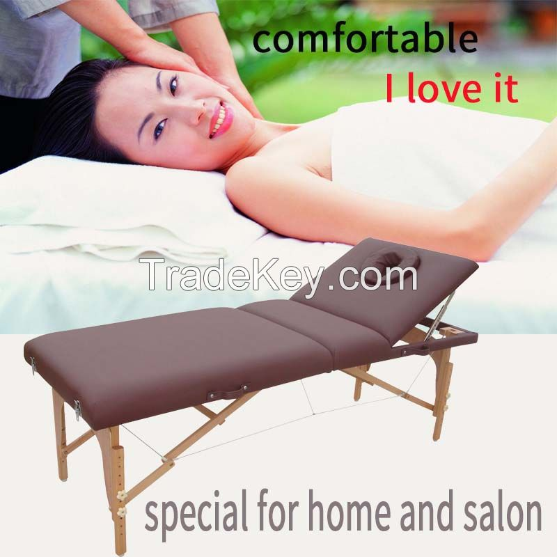 portable massage table with backrest massage bed beauty bed