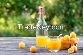 Natural Apricot Nectar 50% fruit part, without preservatives