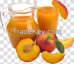 Natural Healthy Peach Nectar