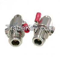 RF lightning protection for DC-3GHz N male to N female