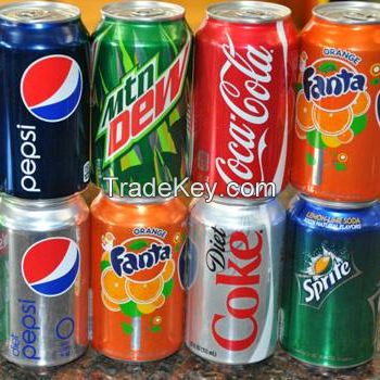 Soft Drinks / Carbonated Drinks