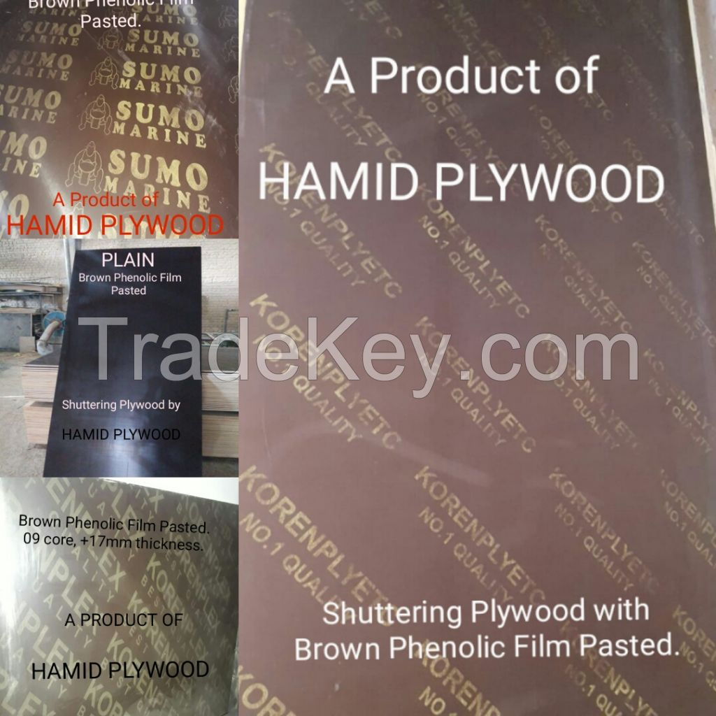 High Pressure Film Face Shuttering Plywood Sheets