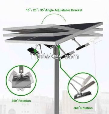 10000LM 120W Solar LED street light Astro