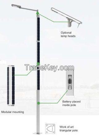 H5(HP-3000) 200W Solar LED street light Helios