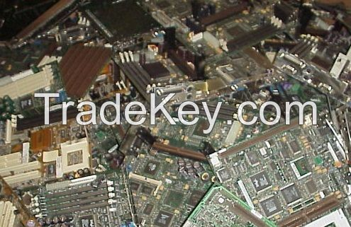 Computer Motherboards, Used Keyboards and CPU scrap